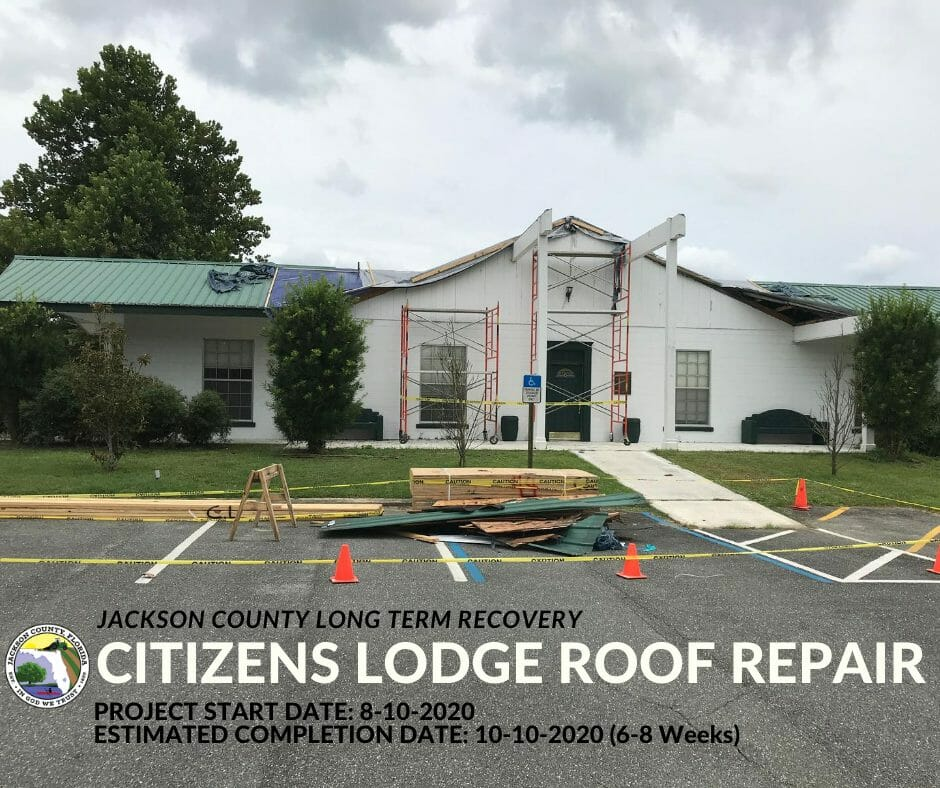 Citizens' Lodge Roof Repair Project